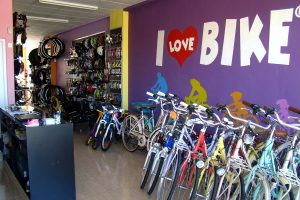 Bicycle hire, I Love Bike, La Zenia, Orihuela Costa, Spain