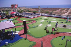 La Mosca Mini Golf, Playa Flamenca, Orihuela Costa, Spain