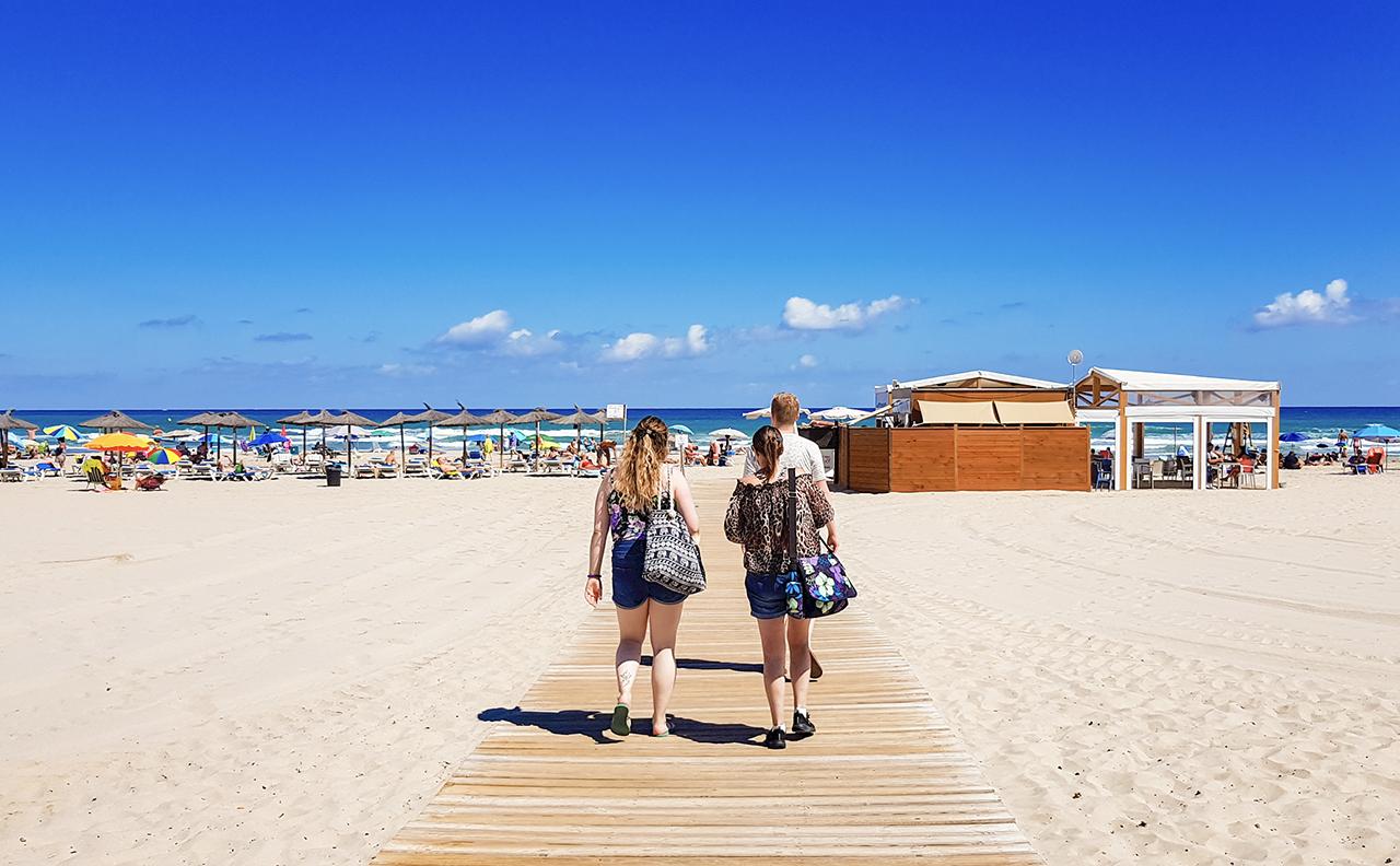La Zenia beach, Orihuela Costa, Spain