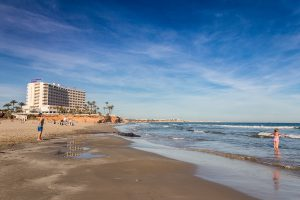 La Zenia Beach, Orihuela Costa, Spain
