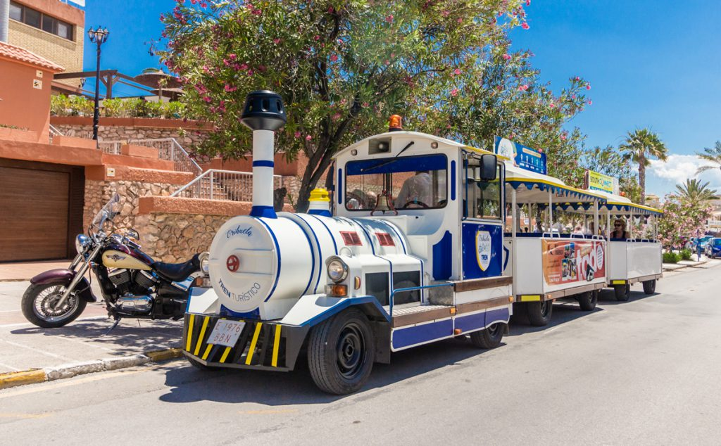Orihuela Costa tourist train