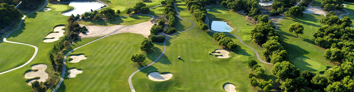 Lo Romero golf course, Orihuela Costa, Spain