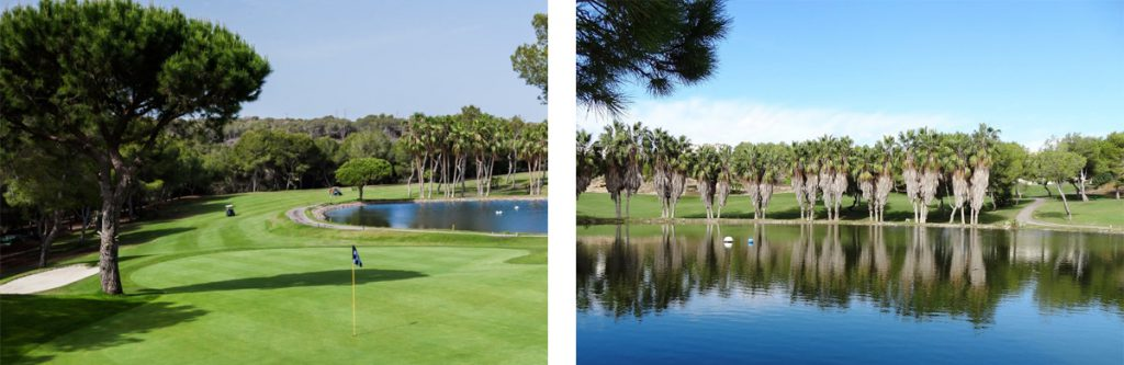 Orihuela Costa golf in Spain