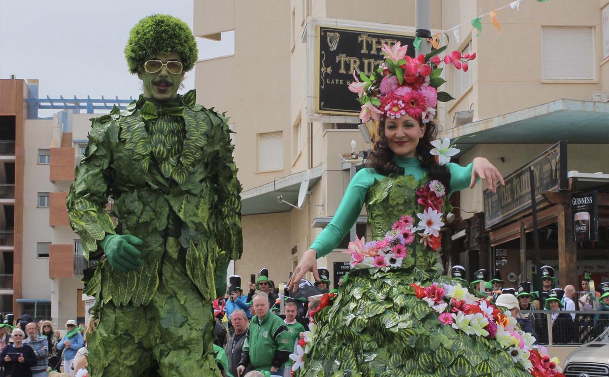 Cabo Roig St Patrick´s Day Parade 2020, Orihuela Costa