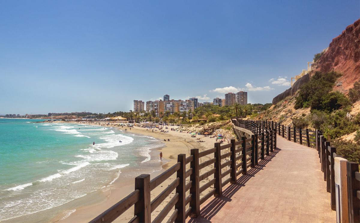 Things to do Orihuela Costa, Dehesa de Campoamor beach