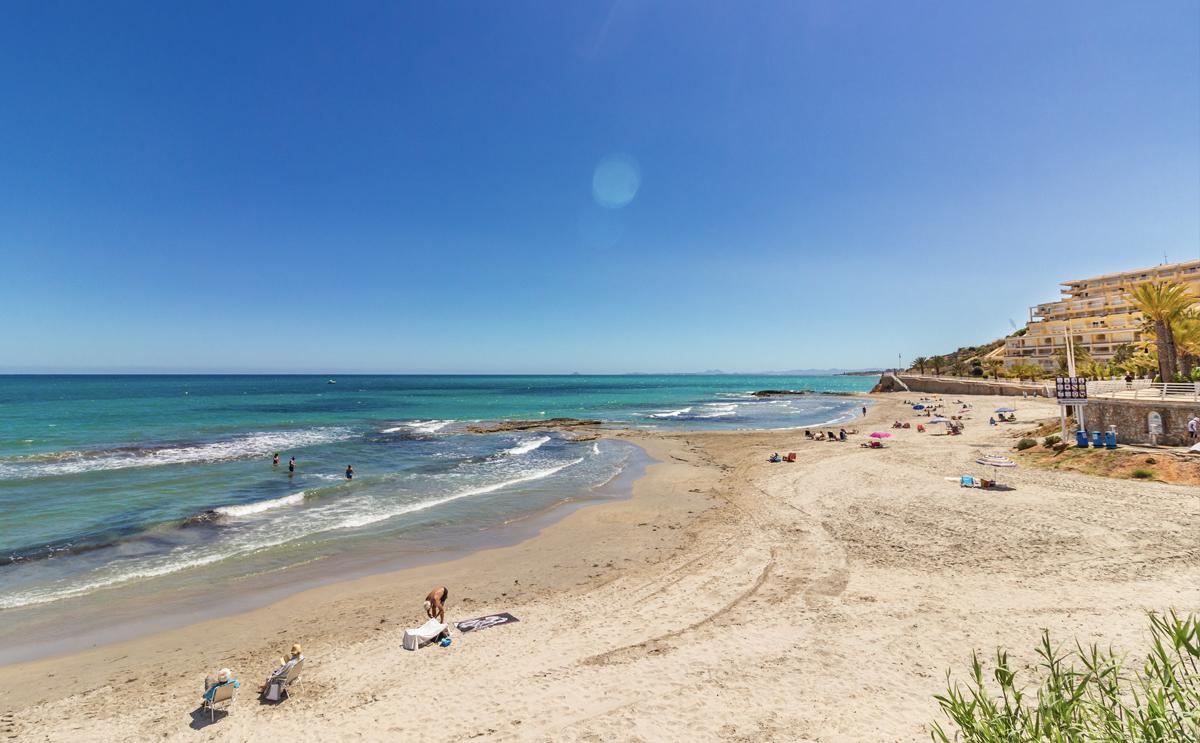 Aguamarina beach, Orihuela Costa, Spain